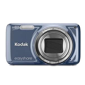 Kodak EasyShare M583 14 MP Digital Camera with 8x Optical Zoom and 3-Inch LCD - Blue