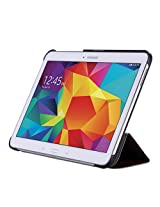 WAWO Creative Smart Tri-fold Cover Case for Samsung Galaxy Tab S 10.5-inch Tablet - Coffee