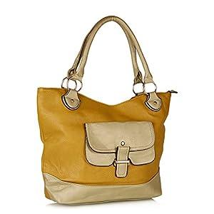 Mustard Yellow Hobo Handbag