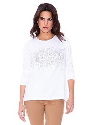 Steilmann Camiseta Logo Brillo (blanco)