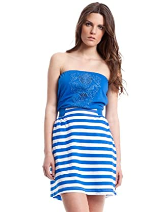 Mango Vestido (Azul)