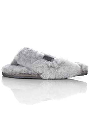 EMU Tova W10105, Pantofole, Donna (Grigio (Grau/Charcoal))