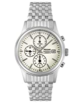 Pulsar Men's PF8177 Chronograph Silver-Tone LumiBrite Dial Watch