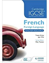 Cambridge IGCSE® and International Certificate French Foreign Language Teacher Resource & Audio-CDs (Cambridge Igcse Modern Foreign Languages)