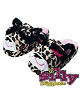 Silly Slippeez Lucky Leopard - Large 1 Ea