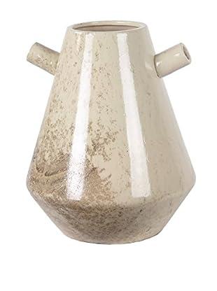 Privilege Small Ceramic Vase, Cream