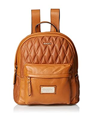 Valentino Bags by Mario Valentino Women's Diego D Quilted Backpack, Dark Whiskey