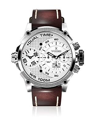 Timecode Reloj de cuarzo Man Marconi 1896 Marrón 46 mm