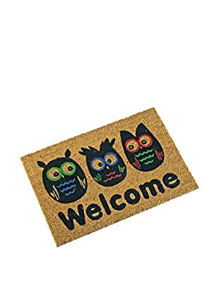 Mimma Fußmatte Welcome braun