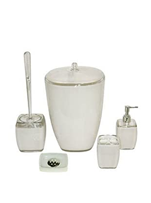 Welcome Home Set Accessori Bagno Bianco