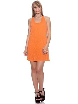 Santa Barbara Vestido Bicolor (Naranja)