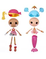 Lalaloopsy Workshop Mermaid/Pirate Doll (Double Pack)