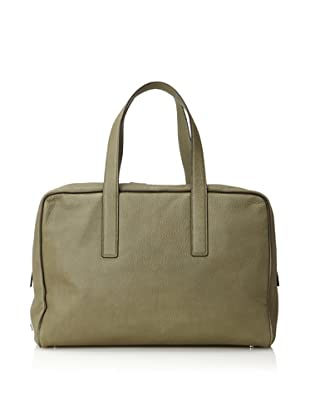 Calvin Klein Collection Men's Satchel (Moss Green)