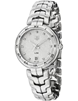 Tag Heuer Watches, Women's Diamond Silver Textured Dial Stainless Steel, Model WAT1311.BA0956