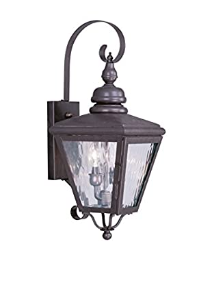 Crestwood Carter 2-Light Wall Lantern, Bronze