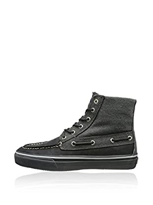 Sperry Botas Bahama Chukka Heavy Canvas Winterized (Negro)