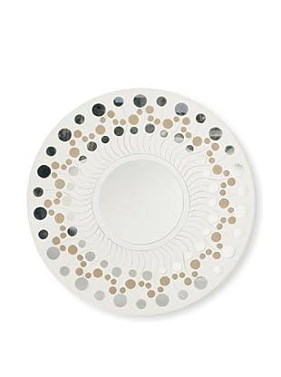 Palecek Saturn Mirror (White)