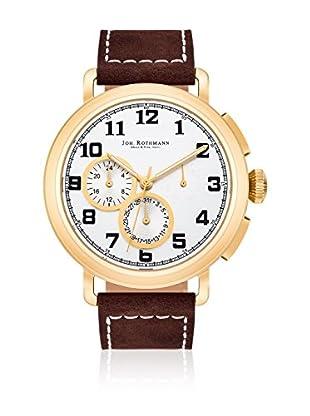 Joh. Rothmann Reloj con movimiento cuarzo japonés  Marrón 46 mm