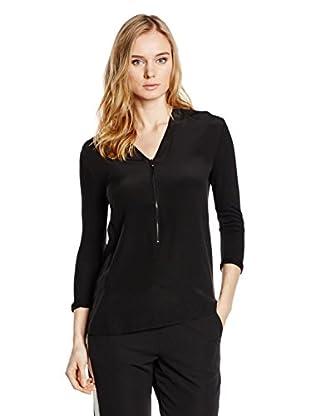 Capital B T-Shirt Capital B Silk Blend T-Shirt schwarz Xl