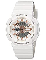 Casio Baby-G Analog-Digital White Color Women's Watch - BA-110LB-7ADR(B147)