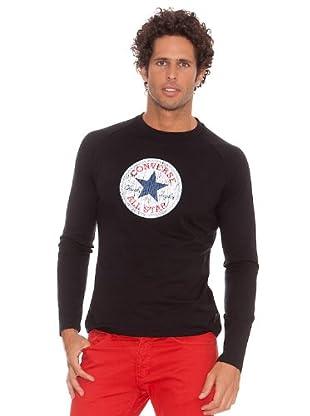 Converse Camiseta T-Lust (Negro)