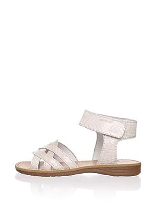 Pablosky Kid's Braided Sandal (Beige)