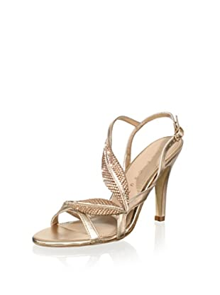 Lola Cruz Women's High Heel Sandal (Cobre)