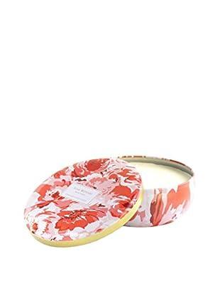 Isaac Mizrahi Hampton Geranium 3-Wick Jar Candle, Red