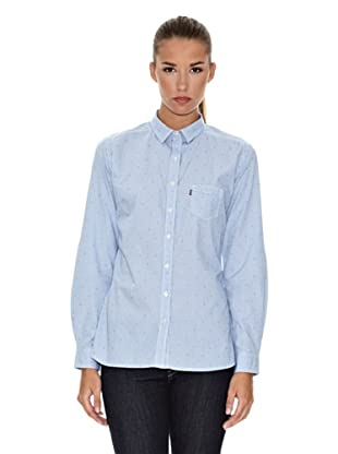 Levi´s Hemd klassisch mit Tasche (offerle plaid blue)