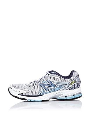 New Balance Zapatillas Running 860 (Blanco / Azul)