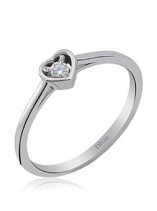 Divas Diamond Anillo Diamante Corazón Solitario