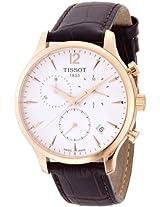 Tissot Analog White Dial Men's Watch - T0636173603700