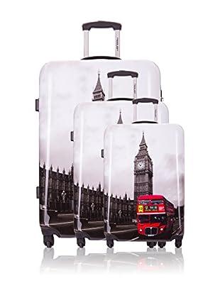 Travel One Set de 3 trolleys rígidos Carona2