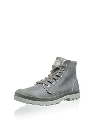 Palladium Men's Pampa Hi Leather S Boot (Gray)
