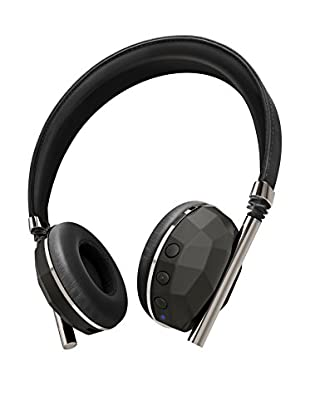 Caeden Linea Nº10 Bluetooth Wireless Headphone, Faceted Carbon/Gunmetal