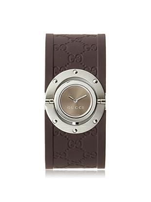 Gucci Women's YA112421 The Twirl Brown Stainless Steel Watch