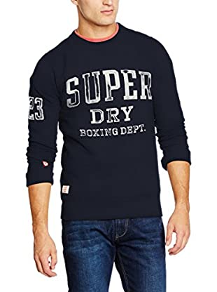Superdry Felpa Boxing Yard Training-Crew