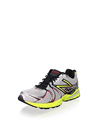 New Balance Men's M870 Light Stability Running Shoe (Silver/Yellow)