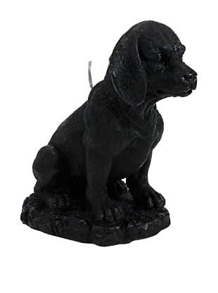 D.L. & Co. Beagle Candle, Black