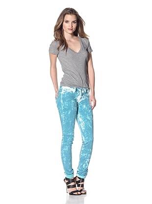 Notify Women's Manish Mycelis Acid Washed Jean (Blue)