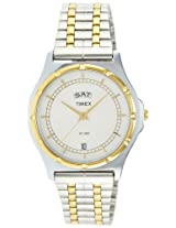 Timex Classics Analog White Dial Men's Watch - BW03