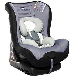 Chicco Eletta Children Car Seat-Grey & Black