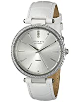 Johan Eric Women's JE-F1000-04-001 Fredericia Analog Display Quartz White Watch