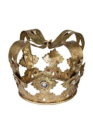 Decorative Crown with Floret Accents