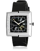 Essential Nc749Pp02-D884 Black/Black Analog Watch