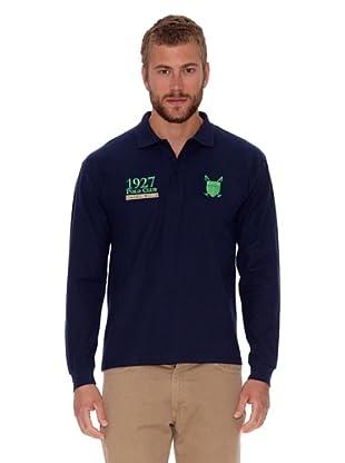 POLO CLUB CAPTAIN HORSE ACADEMY Poloshirt Regular Fit Escudo & Número