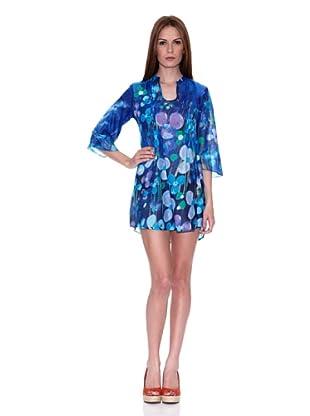 HHG Vestido Lisa (Azul)
