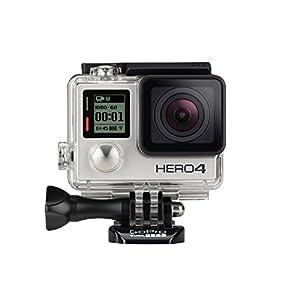 GoPro Hero 4 Adventure Edition (Silver) Action Camera