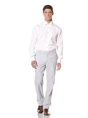 Rota Men's Flat Front Pant (Blue)