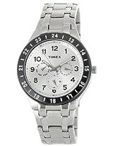 Timex E Class Analog White Dial Men's Watch - F900